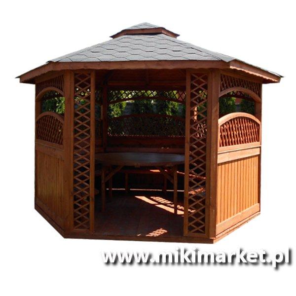 Altana Ogrodowa Kwadratowa Drewniana Nr13 Miki Market
