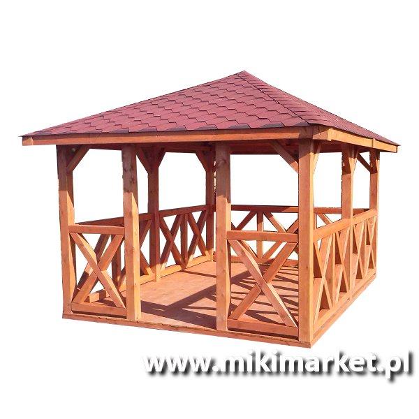 Altany Ogrodowe Kwadratowe I Prostokątne Miki Market