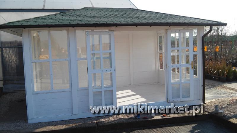 Altana Ogrodowa Prostokątna Drewniana Nr38 Miki Market