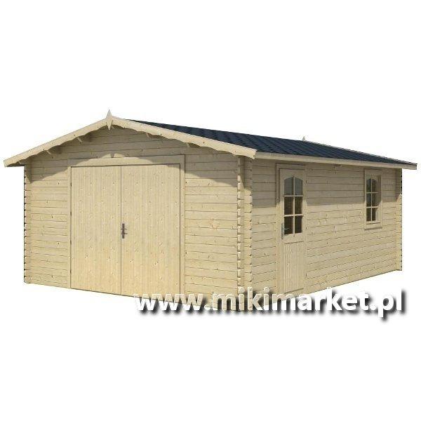 Garaze drewniane